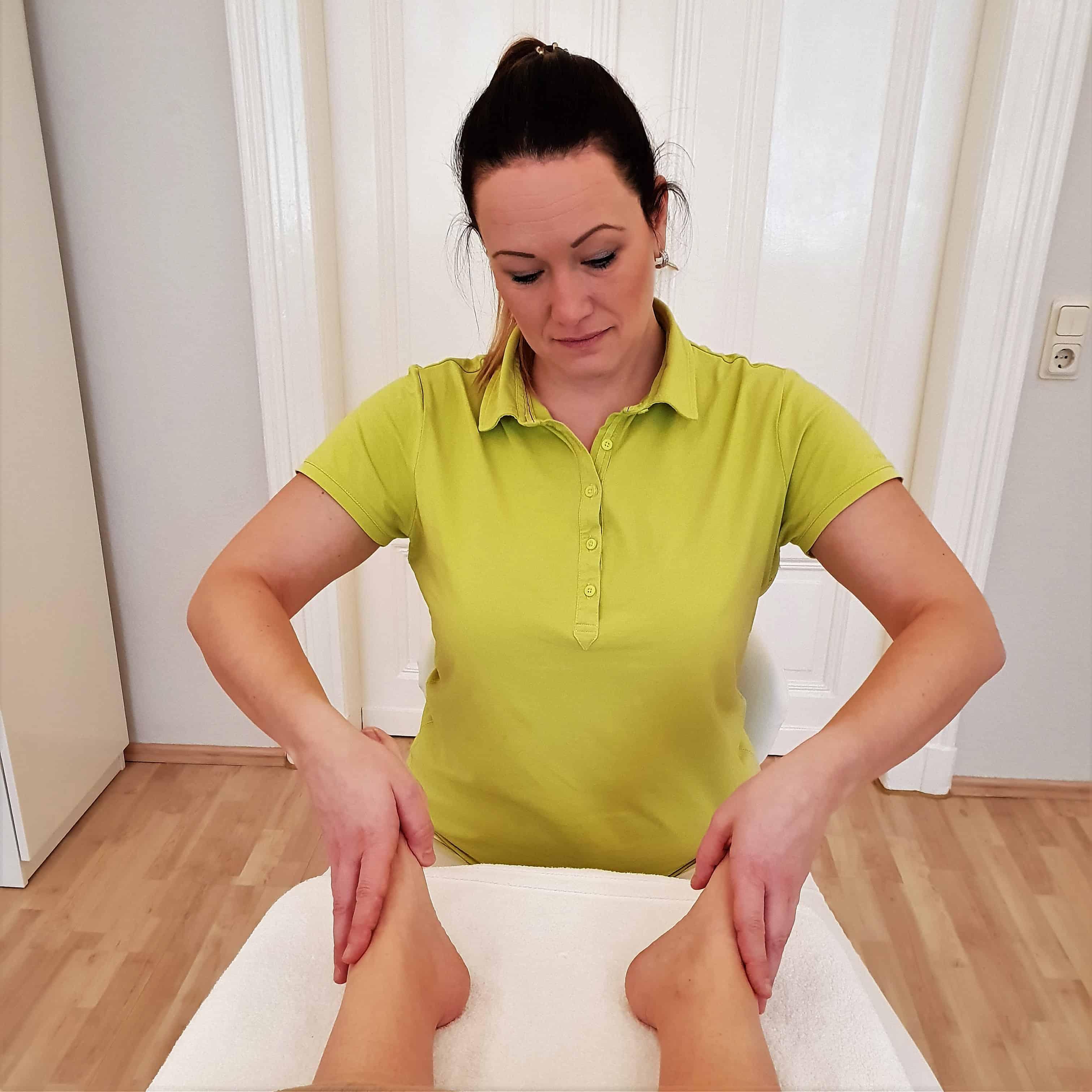 Daniela Kaiser Fußreflexzonen Therapie Behandlung